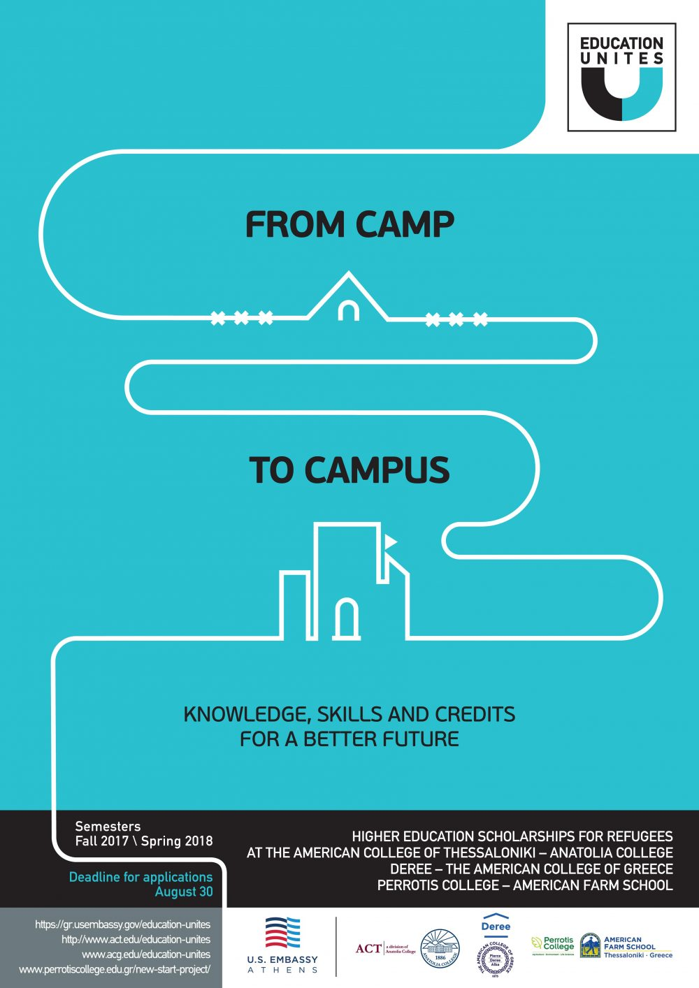 """Education Unites: From Camp to Campus""""-An initiative taken"""