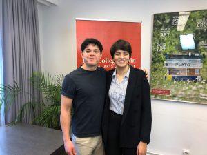 H Sara και ο Seán είναι Eλεύθεροι και θα Συνεχίσουν να Yπερασπίζονται την Aλληλεγγύη