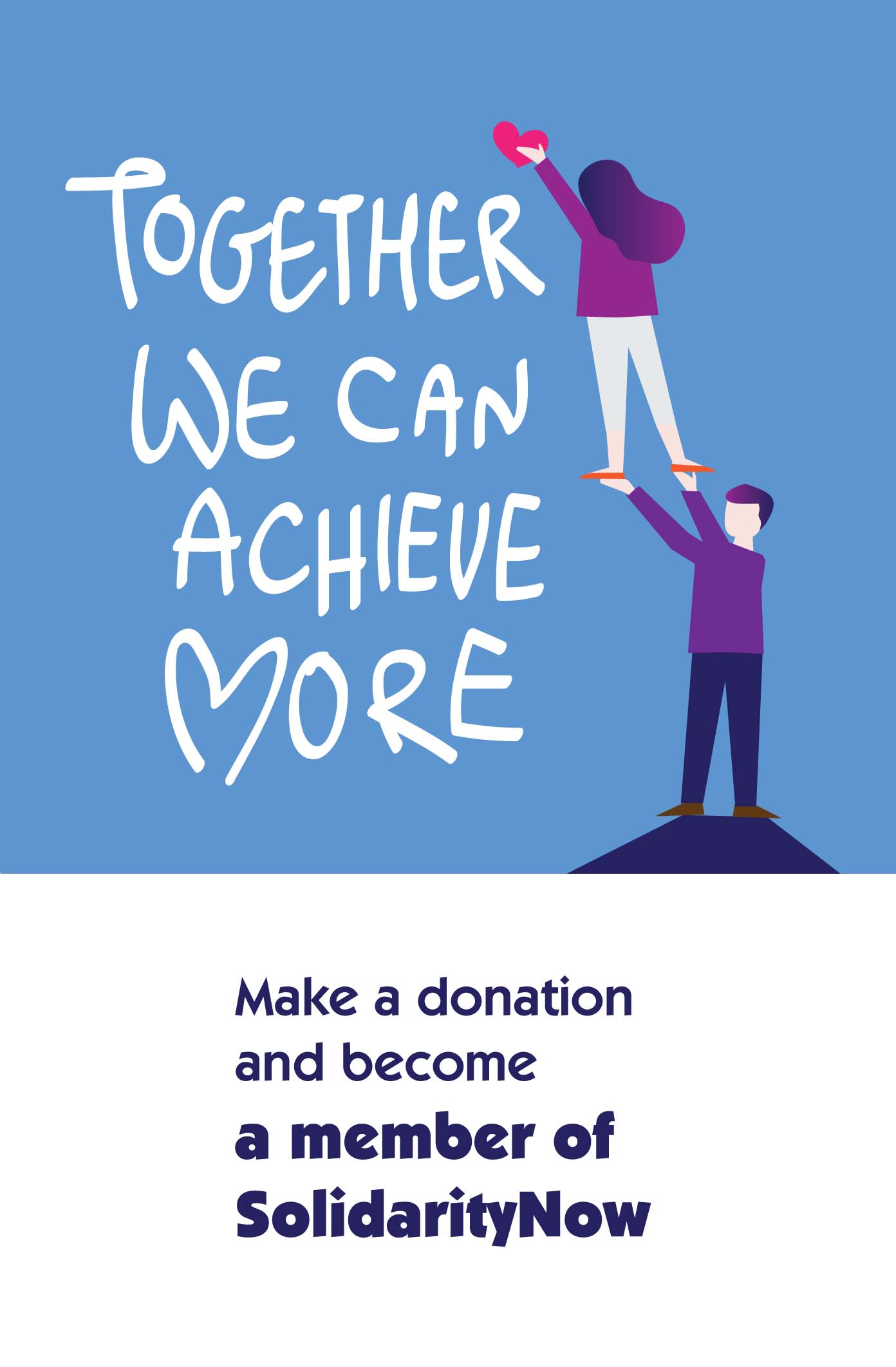 Make a donation and become a member of SolidarityNow